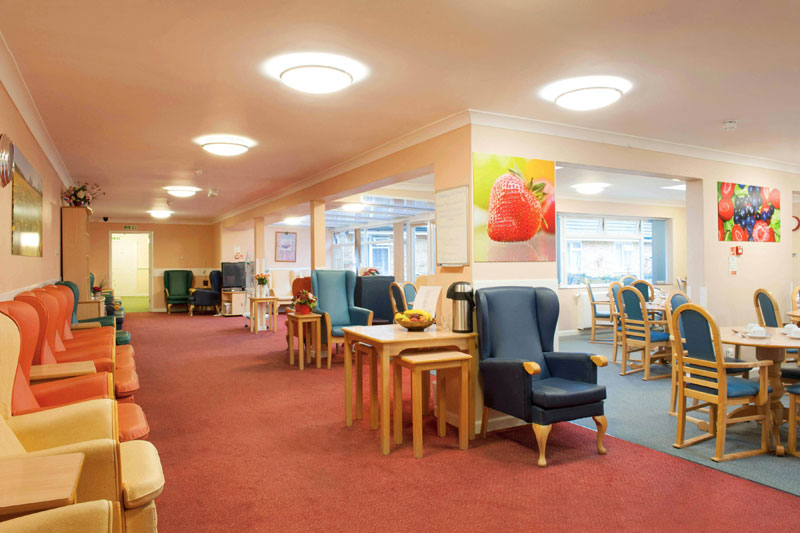 Facilities at rosewood care home southampton